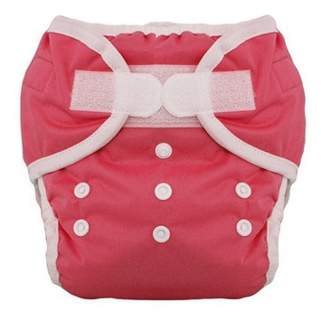 Thirsties Duo Diaper, Rose, Size One (6-18 lbs)
