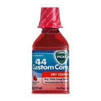Vicks Formula 44 Custom Care Dry Cough Berry Burst Flavor Liquid 6 Fl Oz