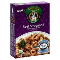 Annie's Homegrown Organic Beef Stroganoff 6.5 ounce (Pack of 36)