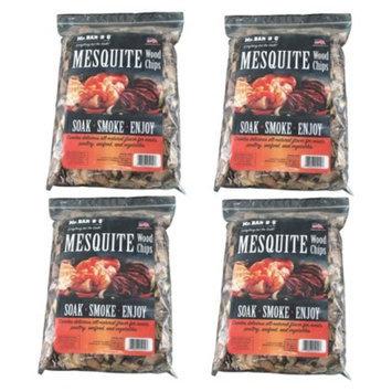 Mr. Bar-B-Q - Mesquite Wood Chips - 4 Bag Super Pack