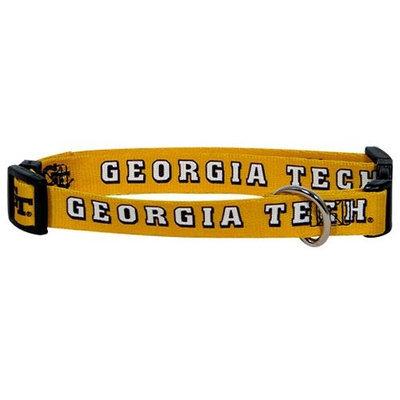 Doggie Nation.com NCAA Georgia Tech Dog Collar Medium