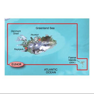 Garmin Bluechart g2 - HEU044R (microSD/SD Card) Garmin Bluechart G2 - HEU044R - Iceland and Faeroe Islands