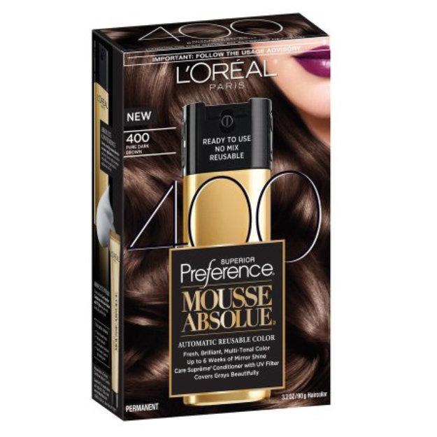Loral Paris Superior Preference Mousse Absolue Reusable Hair Color