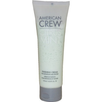 Citrus Mint Finishing Cream By American Crew for Men, 4.2 Ounce
