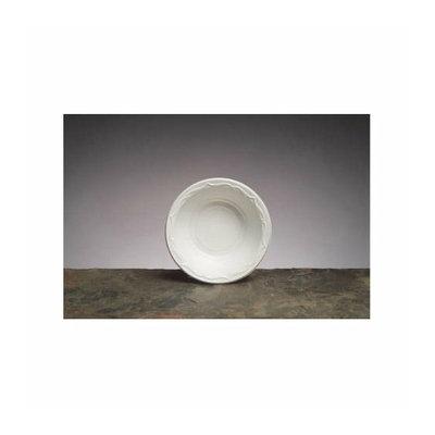 Genpak Aristocrat Plastic Round Bowls in White