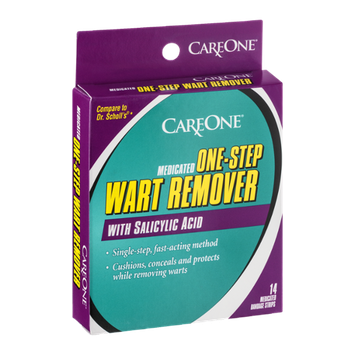 CareOne Medicated One-Step Wart Remover