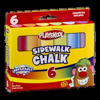 Playskool Sidewalk Chalk Assorted Colors - 6 CT