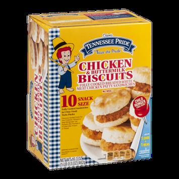 Odom's Tennessee Pride Chicken & Buttermilk Biscuits - 10 CT
