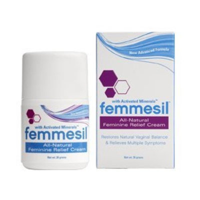 Femmesil Max All-Natural Feminine Relief Cream (28g Tube)