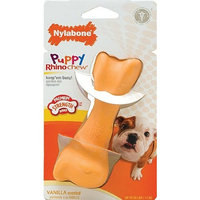 Nylabone Rhino Puppy Teethe n' Toss Chew Toy, Regular
