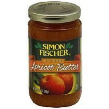 Simon Fischer Golden Apricot Butter 10.5oz Jar