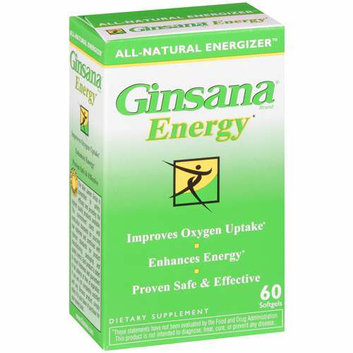Ginsana Energy Softgels Dietary Supplement 60 ct