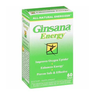 Ginsana Energy Softgels Dietary Supplement 60 ct