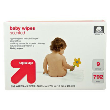 up & up Scented Baby Wipes Refill Pack - 792 Count