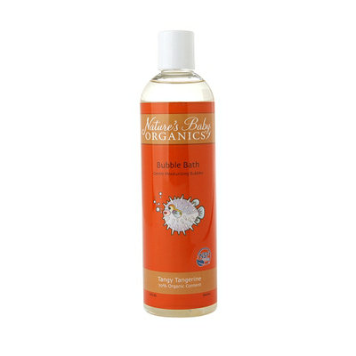 Natures Baby Organics Bubble Bath NSF Tangy Tangerine
