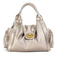 Timi And Leslie timi & leslie Annette Convertible Diaper Bag, Pewter (Discontinued by Manufacturer)
