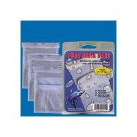 Pura (Magnavore) APU00414 3-Pack 300-Micron Media Bags for Aquarium Filter, 6 by 12-Inch