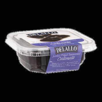 Delallo Calamata Jumbo Pitted Seasoned