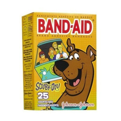 Band-Aid Scooby Doo Bandages-25ct
