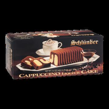 Schlunder Cake Cappuccino Liqueur