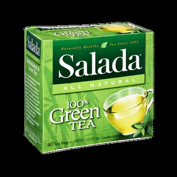 Salada All Natural 100% Green Tea Bags- 40 CT