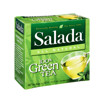 Salada All Natural 100% Green Tea Bags- 40 CT