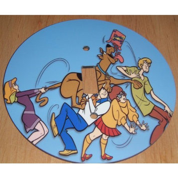 SCOOBY DOO Light switch Cover 5 Inch Round (12.5 cms) Switch plate Switchplate