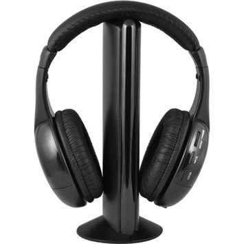Ematic Wireless Headphones and Transmitter with FM Radio