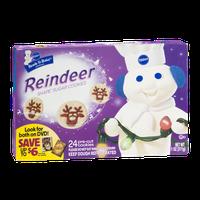 Pillsbury Read to Bake Reindeer Shape Sugar Cookies Cookie Dough - 24 CT