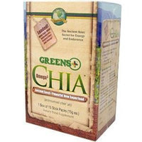 Greens Plus - Omega 3 Chia Stick Packs, 15 stick packs