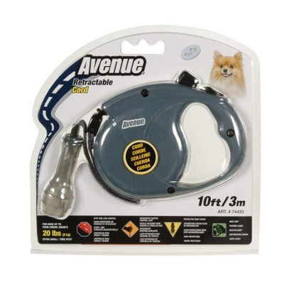 Hagen Avenue Retractable Cord Leash for Dogs