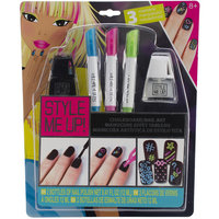 Aquastone Group Style Me Up-Chalkboard Nail Art