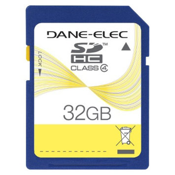 Dane-Elec Dane 32GB SD Memory Card - Black (DA-SDHS32GT3-C)