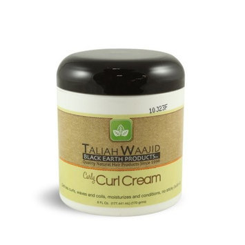 Black Earth Taliah Waajid Curls, Waves and Naturals Curly Curl Cream, 6 Ounce