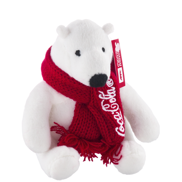 Coke Plush Bear