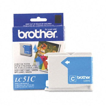 Brother International Brother Compatible LC51C Cyan Ink cartridge. (LC51 Series)