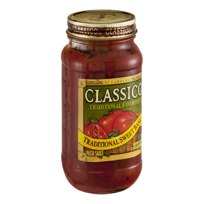 Classico Traditional Favorites Sweet Basil Pasta Sauce
