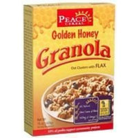Peace Cereals Golden Honey Granola With Flax ( 12 x 12 OZ)