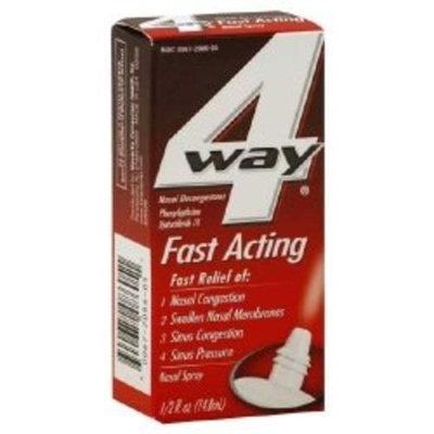 4 Way 4-Way Fast Acting Nasal Spray-1, oz.