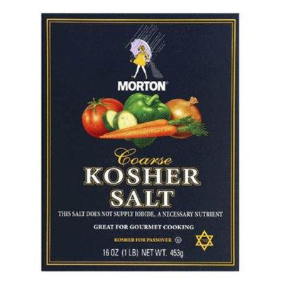 Morton Coarse Kosher Salt - 1 lb.