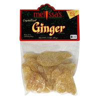Melissa's Dried Crystallized Ginger, 3-Ounce Bags (Pack of 12)