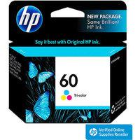 HP 60 Ink Cartridge - Tri-color (CC643WN#140)