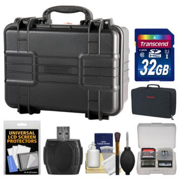 Vanguard Supreme 37F Waterproof and Airtight Hard Case with Foam with 32GB Card + Divider Bag + Accessory Kit