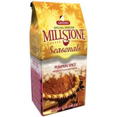 Millstone Pumpkin Spice Ground Coffee, 12-Ounce Packages (Pack of 2)