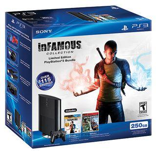 Playstation 3 Infamous and Uncharted Bundle