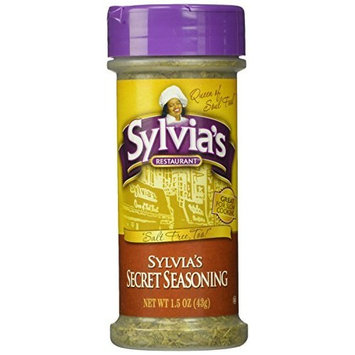 Sylvia's Secret Seasoning, 1.5-Ounce Containers (Pack of 12)