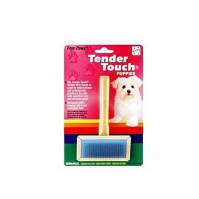 Four Paws Tender Touch Puppy Grooming Slicker Brush