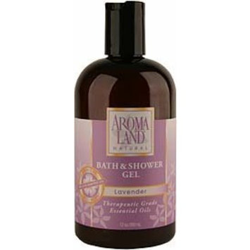 Aromaland Lavender - Bath & Shower Gel 12 oz.