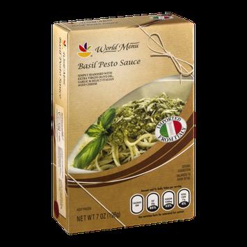 Ahold World Menu Basil Pesto Sauce