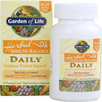 Garden of Life Immune Balance Daily 120 vcaps